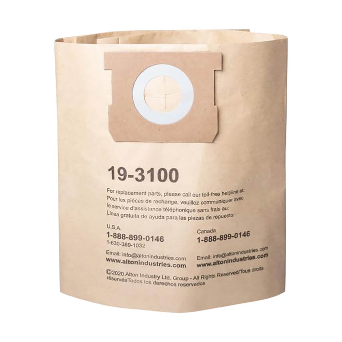 Disposable Vacuum Filter Bag - 4-8 Gal - 3 pack