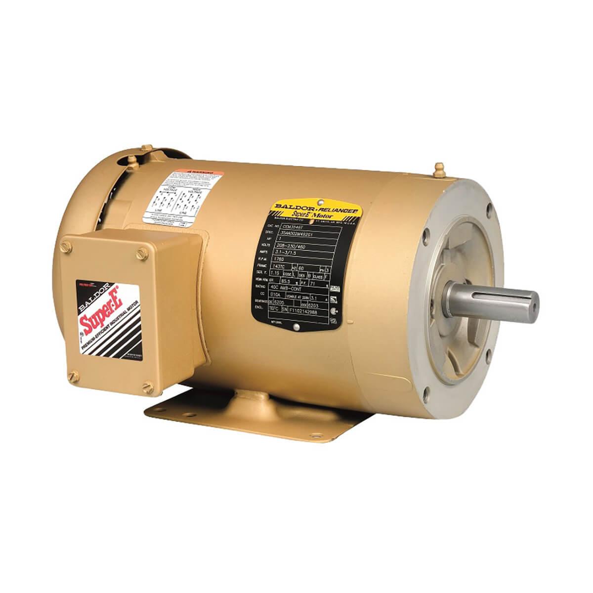 Baldor Motor CEM3615T-5 - 5 HP - 1750 RPM