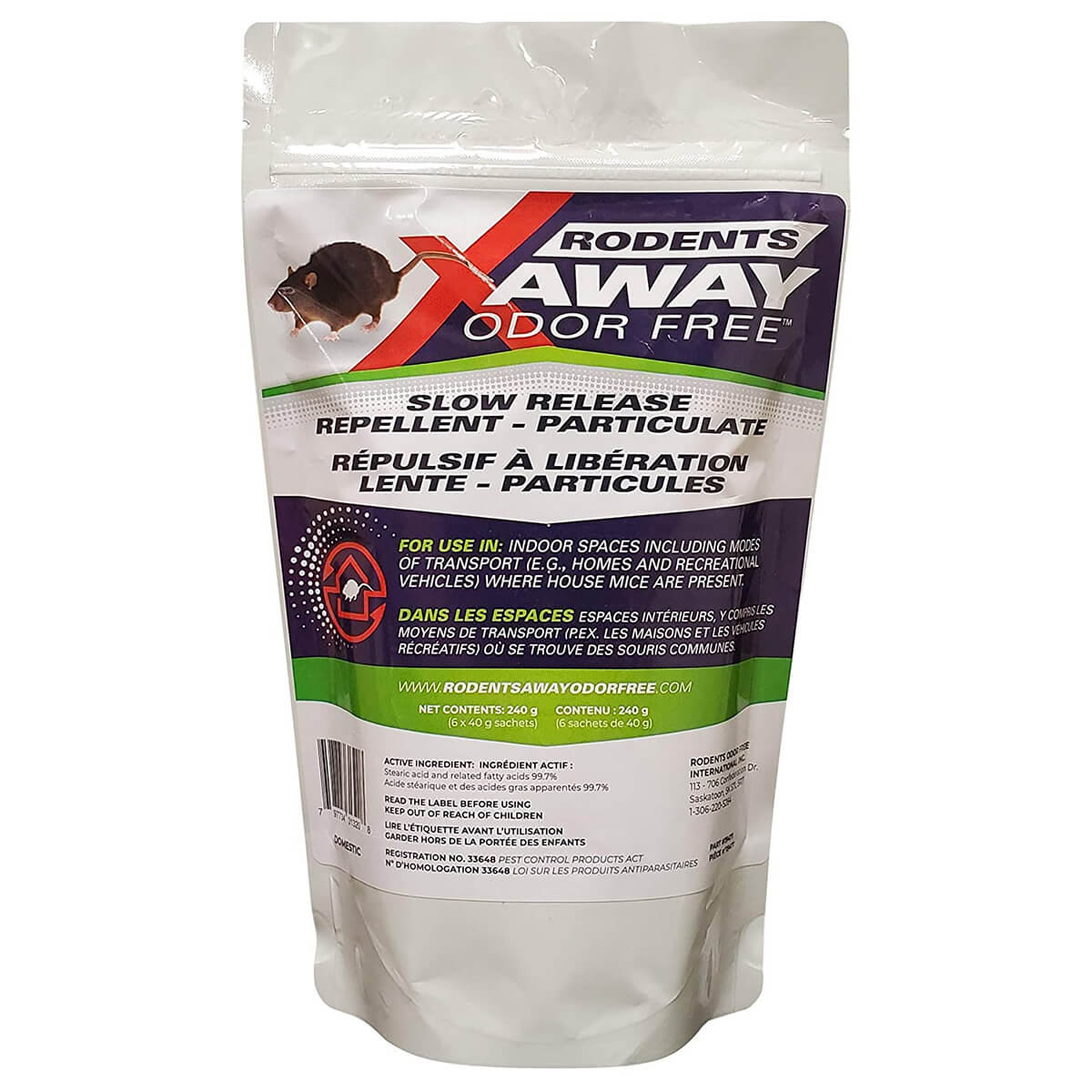 Slow Release Rodent Repellent - 6 Pack