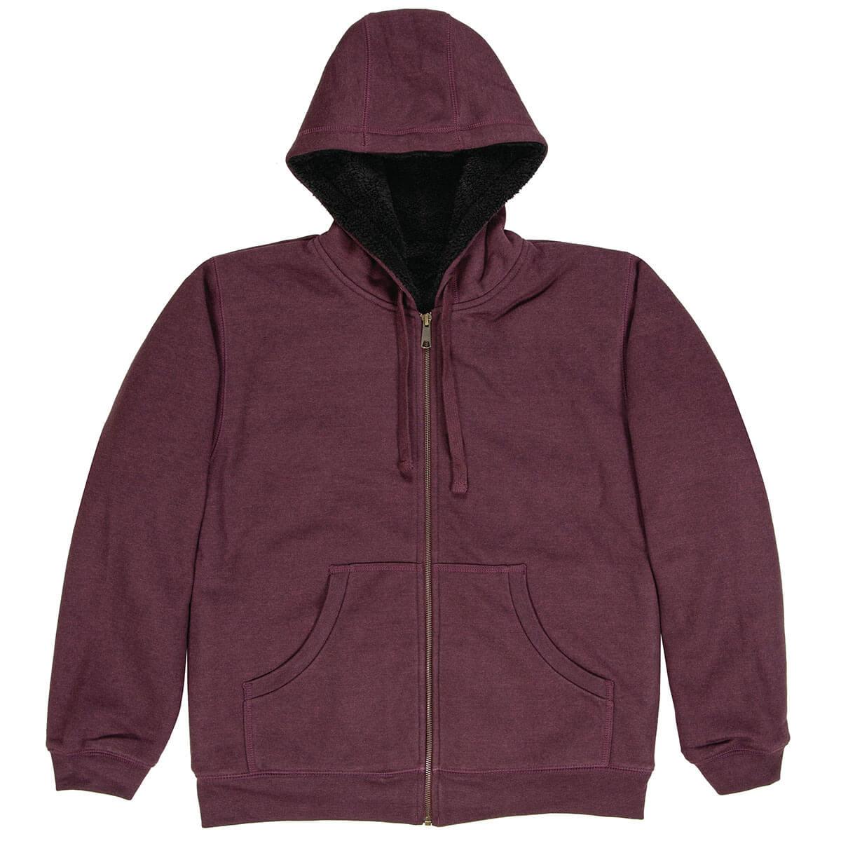 Women's Everest Hooded Sweatshirt - Cabernet - S