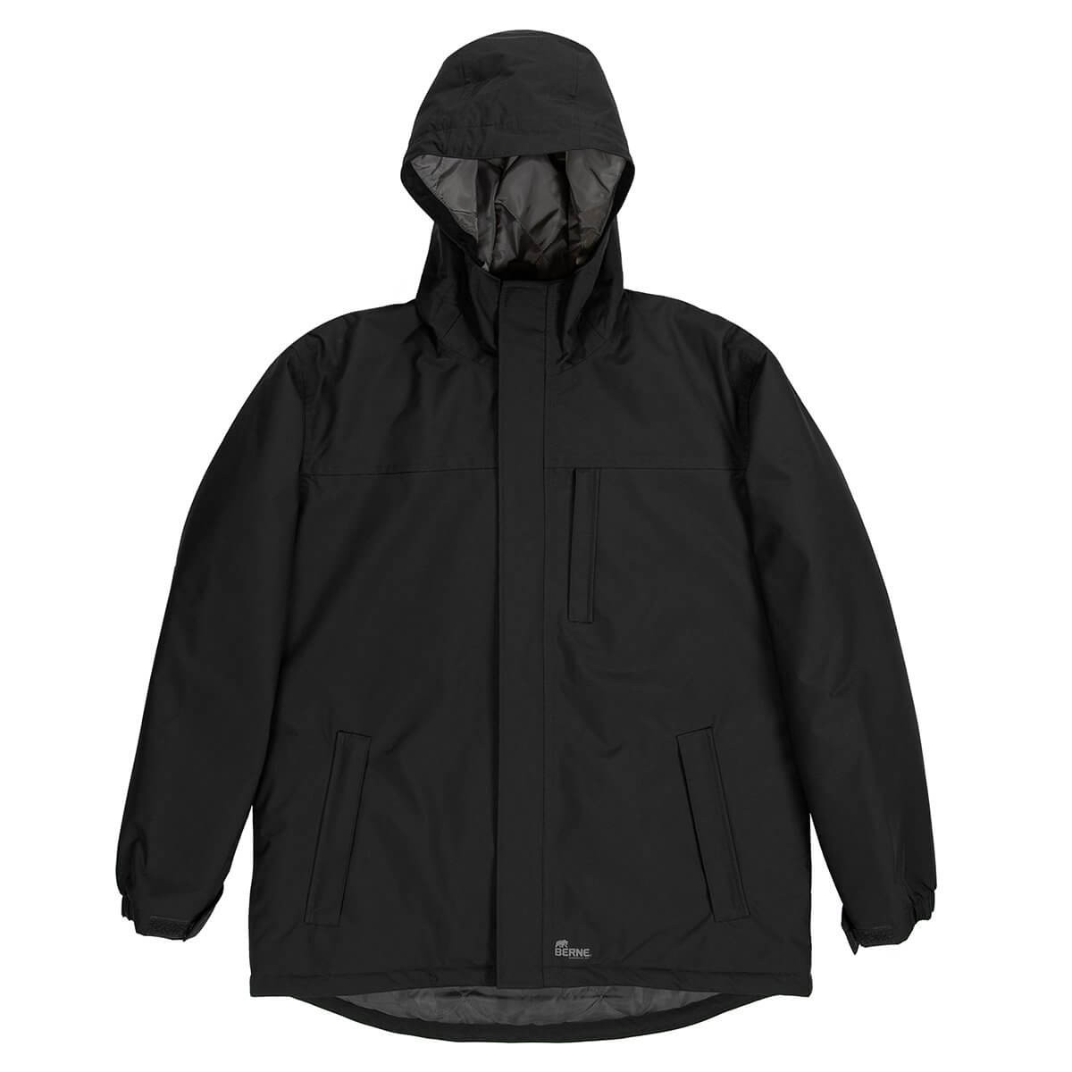 Men's Coastline Waterproof Storm Jacket - Black