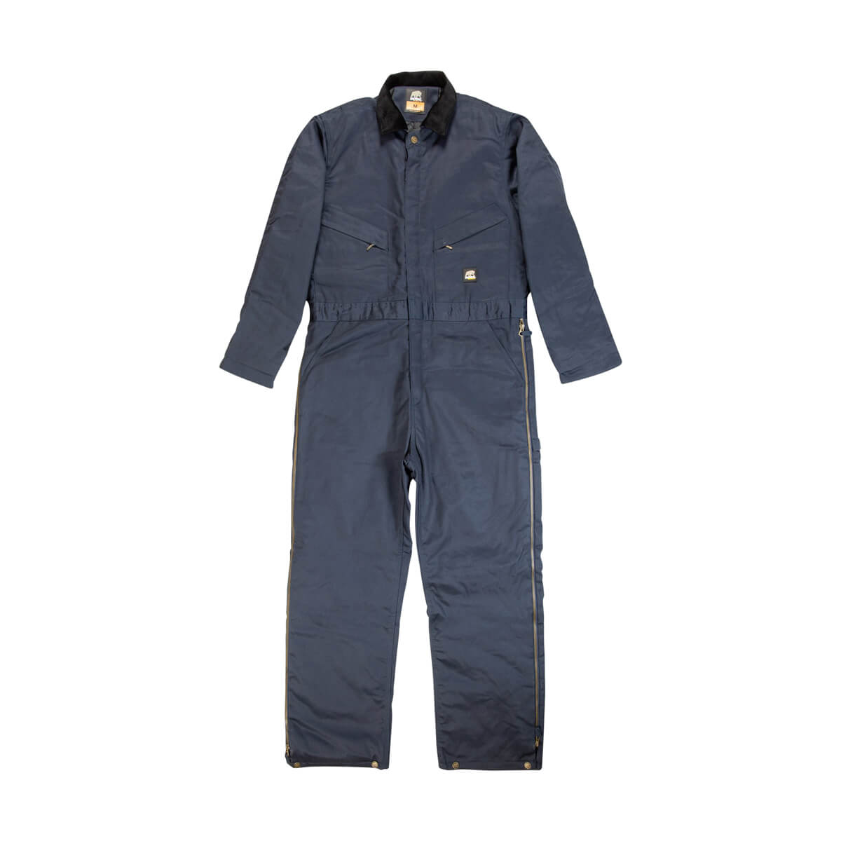 Heritage Twill Insulated Coverall - Navy