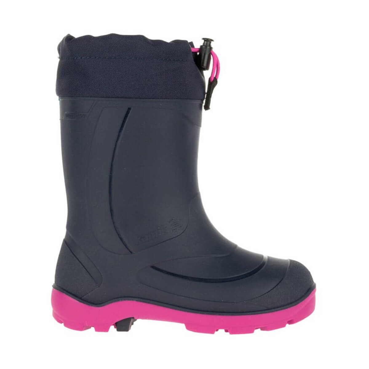 Kids Snowbuster 1 Winter Boot - Navy/Magenta