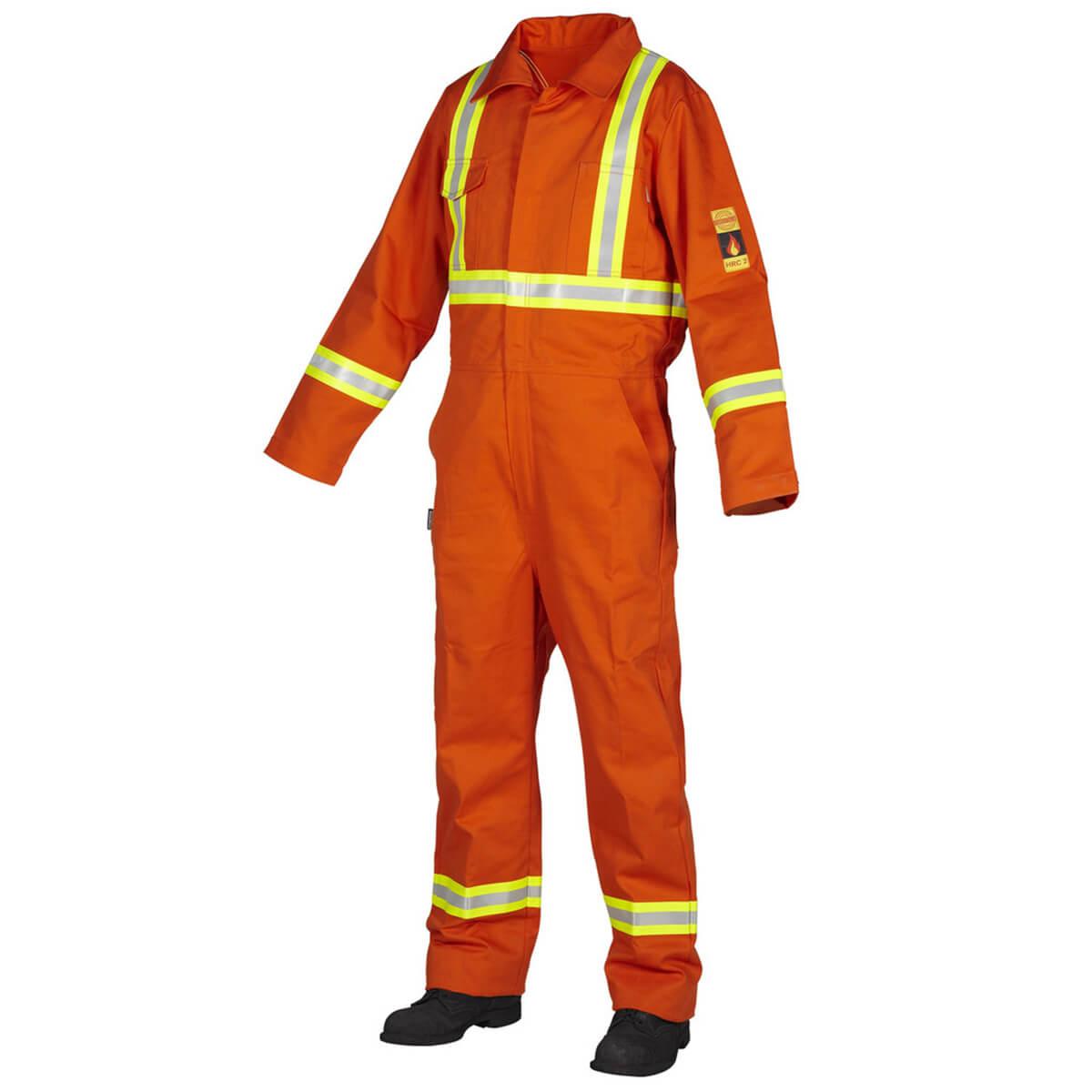 Fire Resistant Coverall - Orange