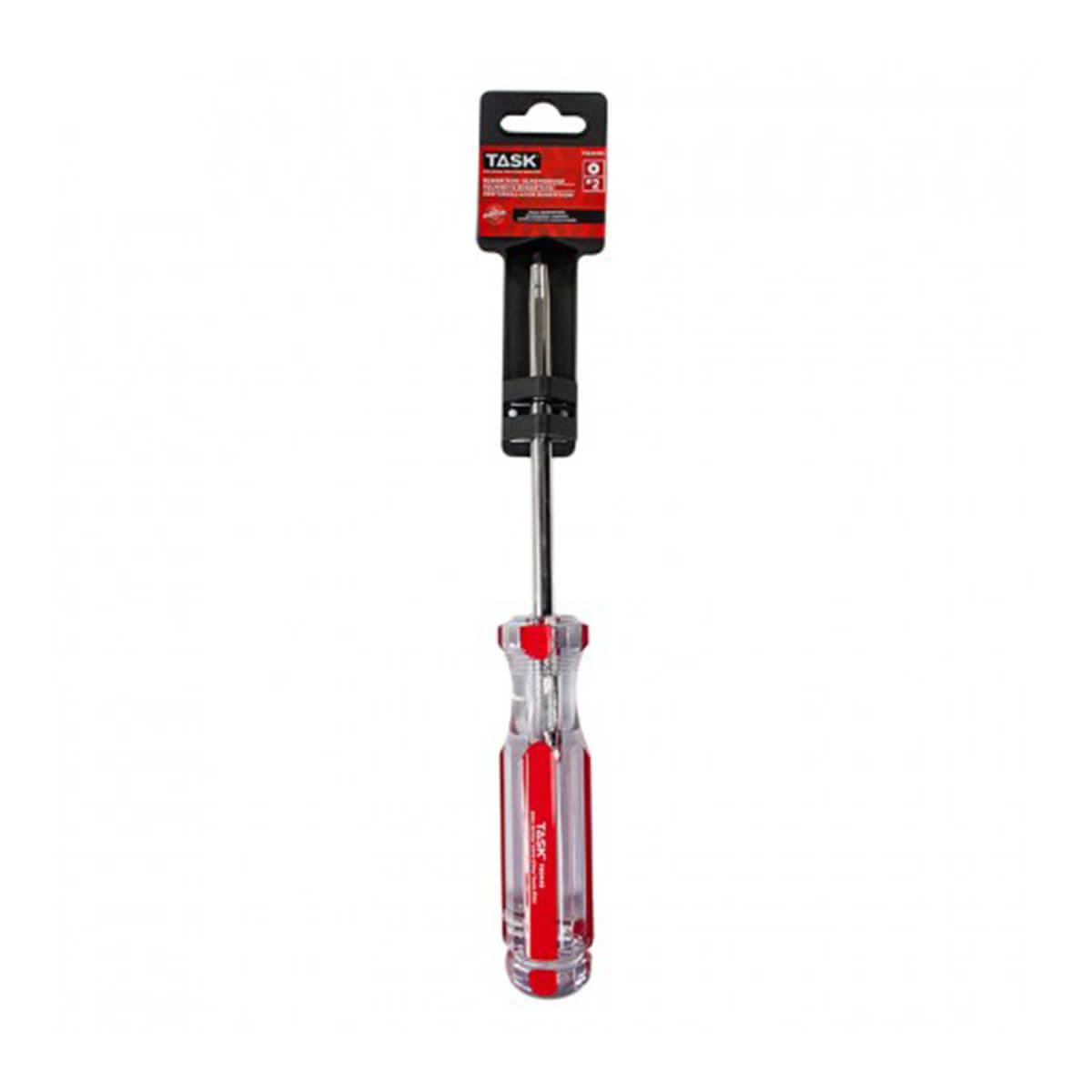 #2 Robertson® 5 in Elite Acetate Hard Grip Screwdriver