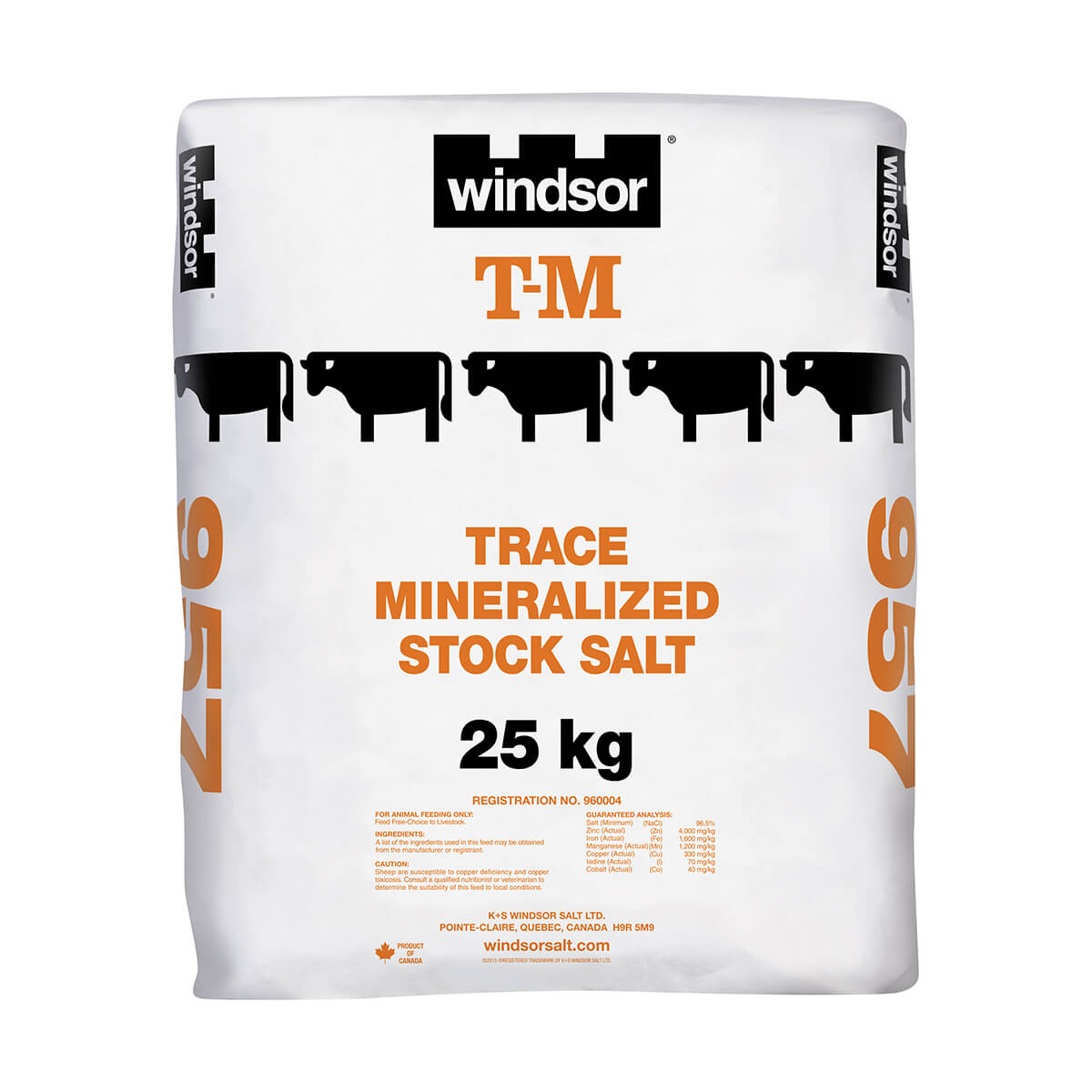 Livestock Iodized Salt - Bag - 25 kg