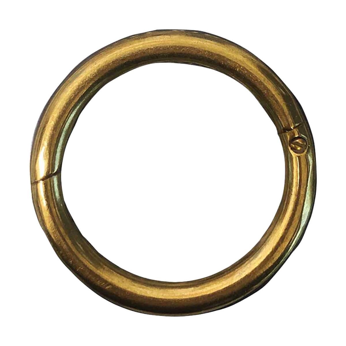 #53 Bull Rings - Brass - Stone