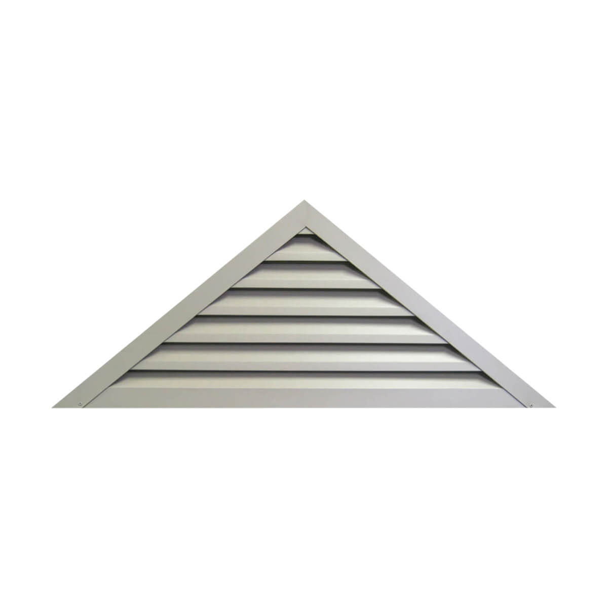 Rectangle Gable Louver - 12-in x 12-in