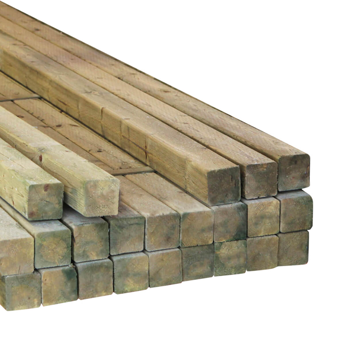 Rough CCA Treated Timbers - 4 x 6 x 18'