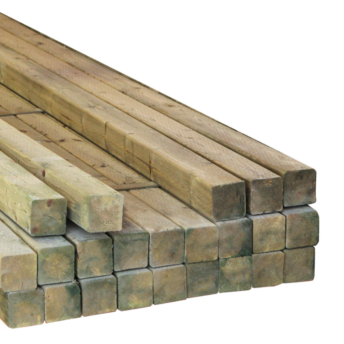 Rough CCA Treated Timbers - 6 x 6 x 24-ft