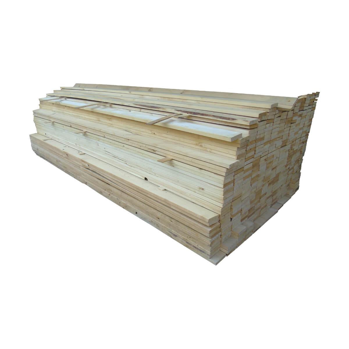 #3 Spruce Lumber - SPR #3 - 1 x 4 x 8-ft