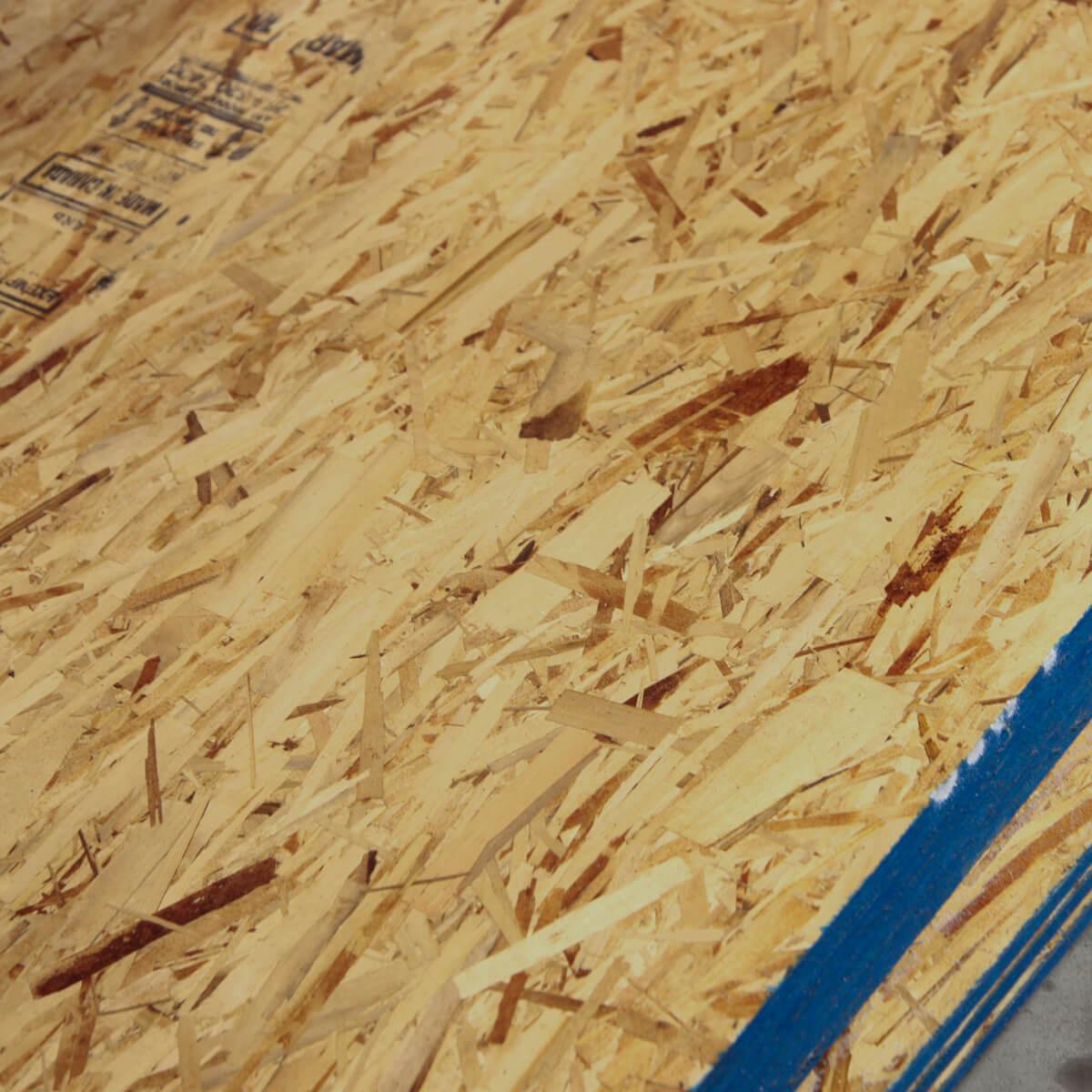 "OSB (Oriented Strand Board) - 4 x 8 x 3/8"""