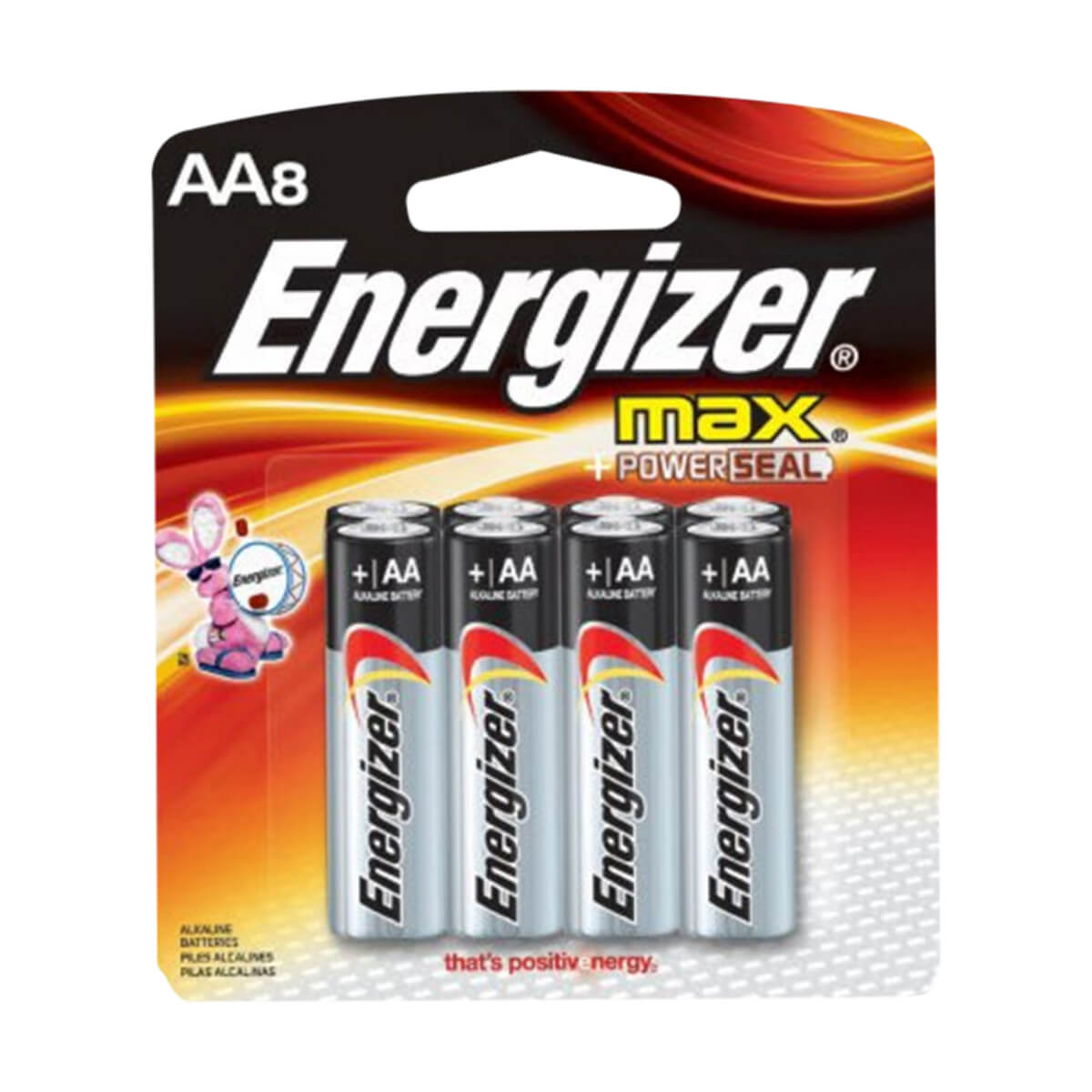 AA Energizer Batteries - 8-Pack