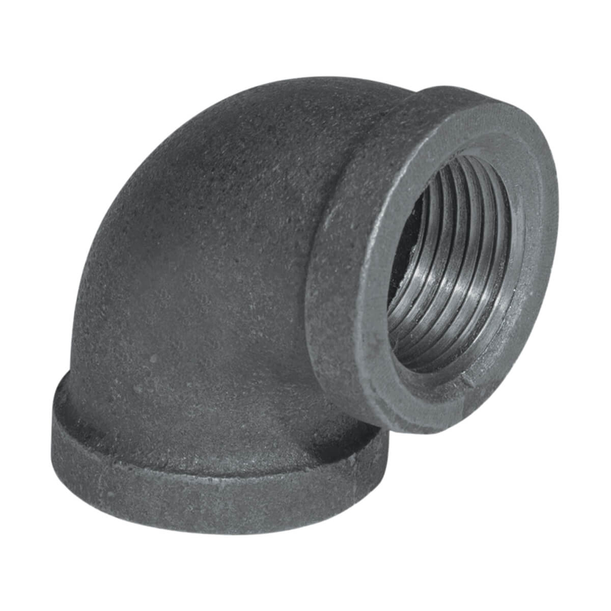 Fitting Black Iron 90° Elbow - 3/4-in