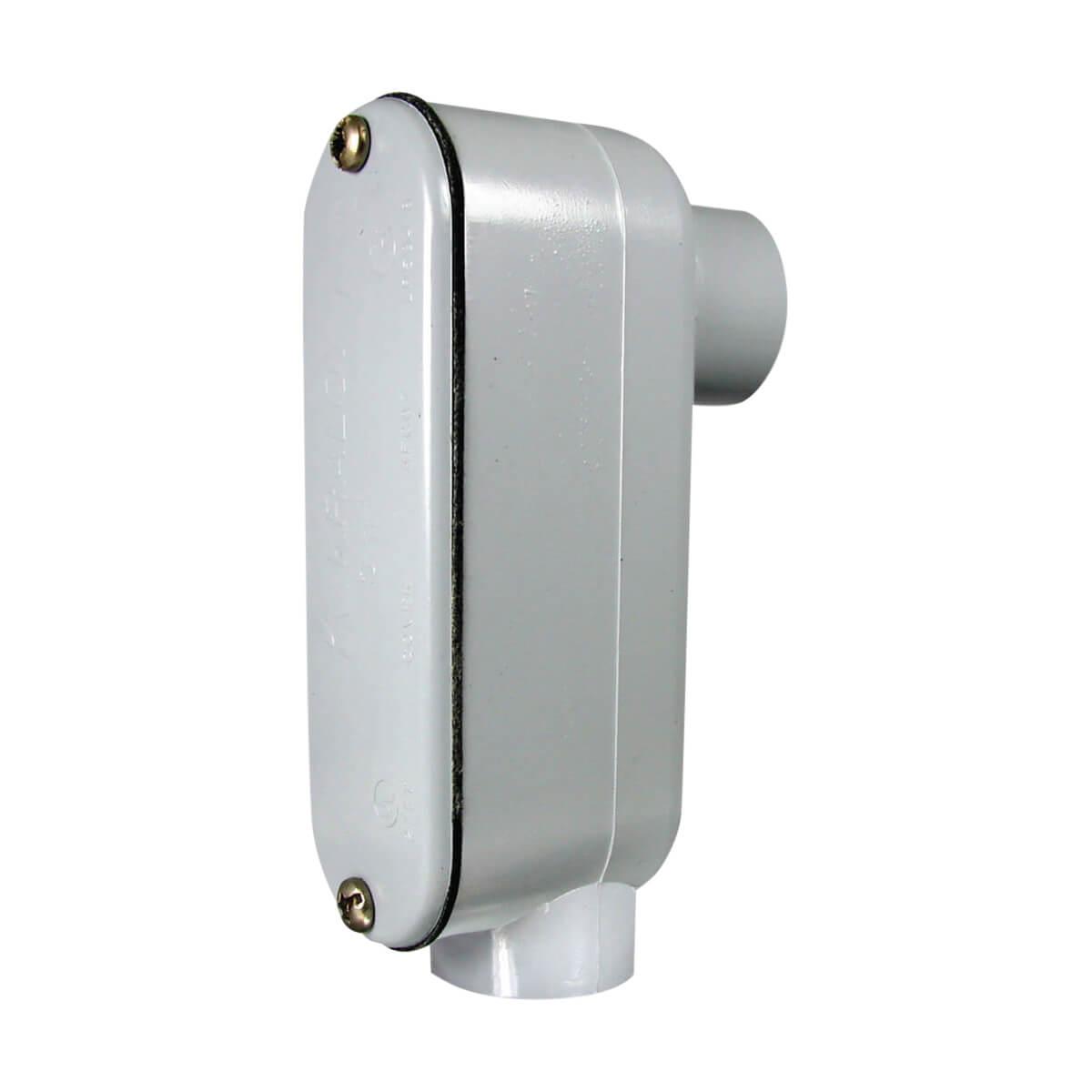 "PVC Counduit Type 'LB' Access Fitting - Hub - 1/2"""
