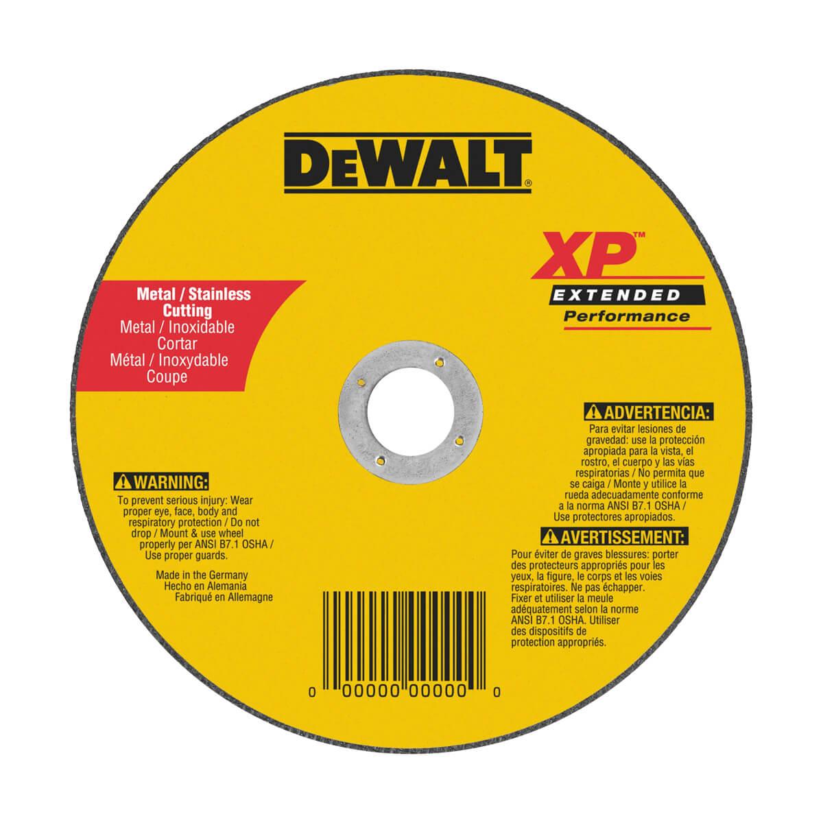"""DEWALT 5"""" Metal Cutting Wheel - DW8063"""