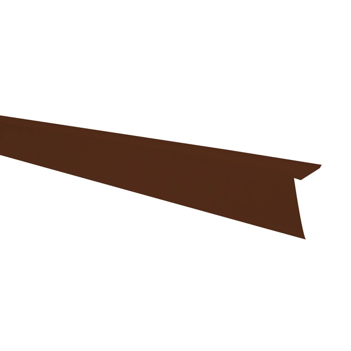 Aluminum Roof Edge - Brown