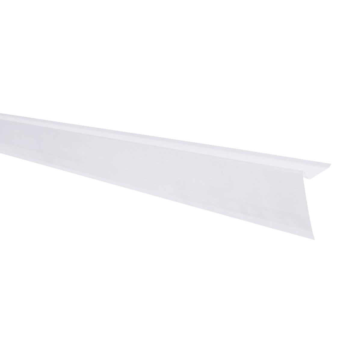 Aluminum Roof Edge - White