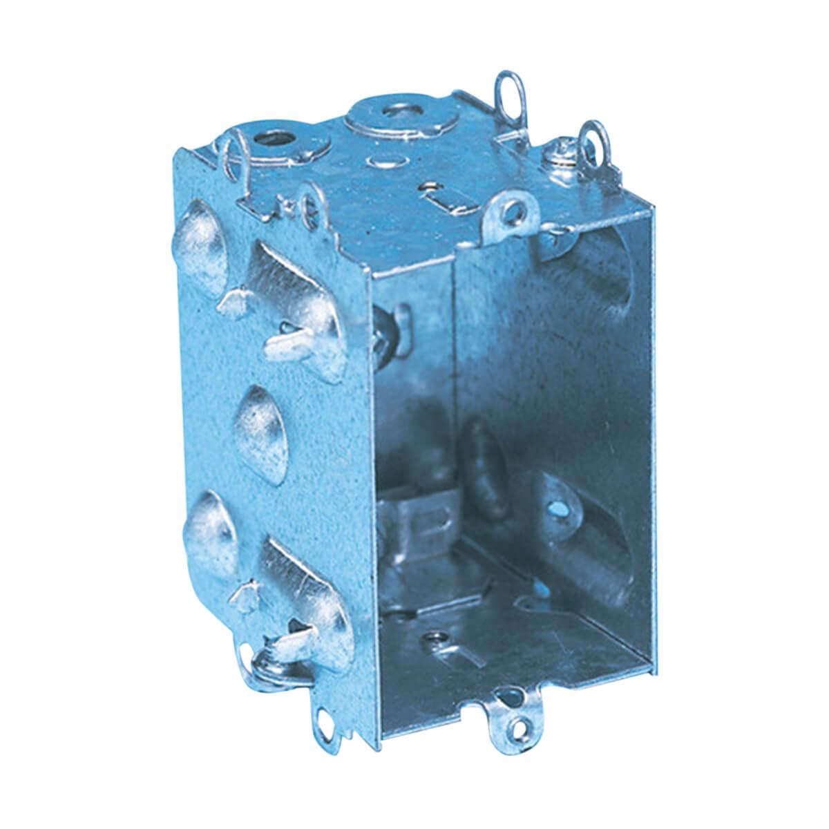 "Metal Electrical Box - 1104LH- 1-1/2"" deep"