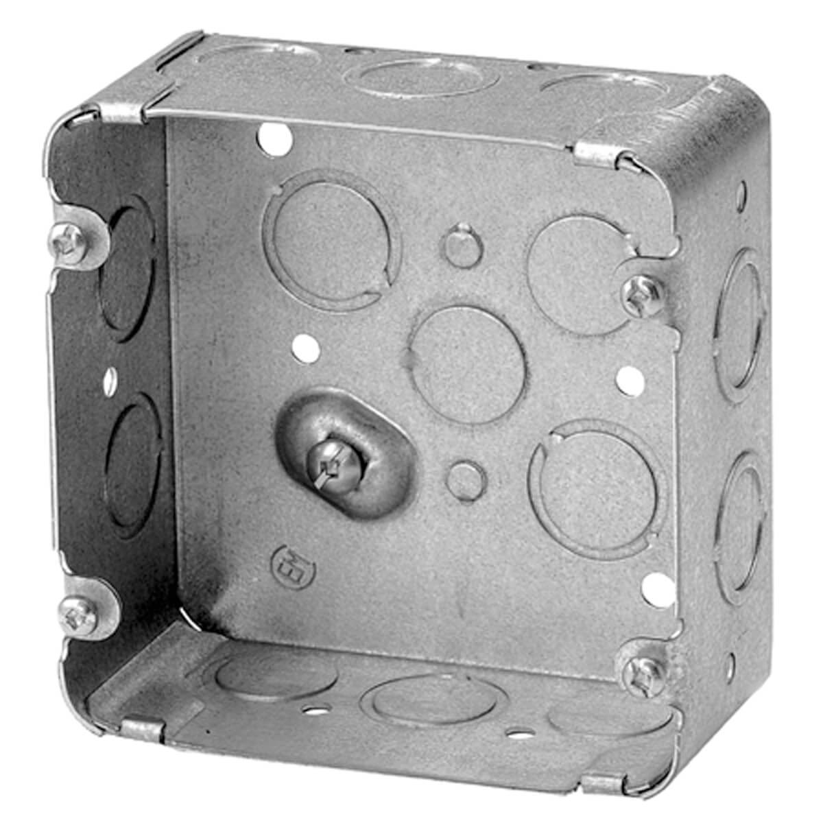 "Sq. Range/Dryer Box 2-1/8"" Deep KO"
