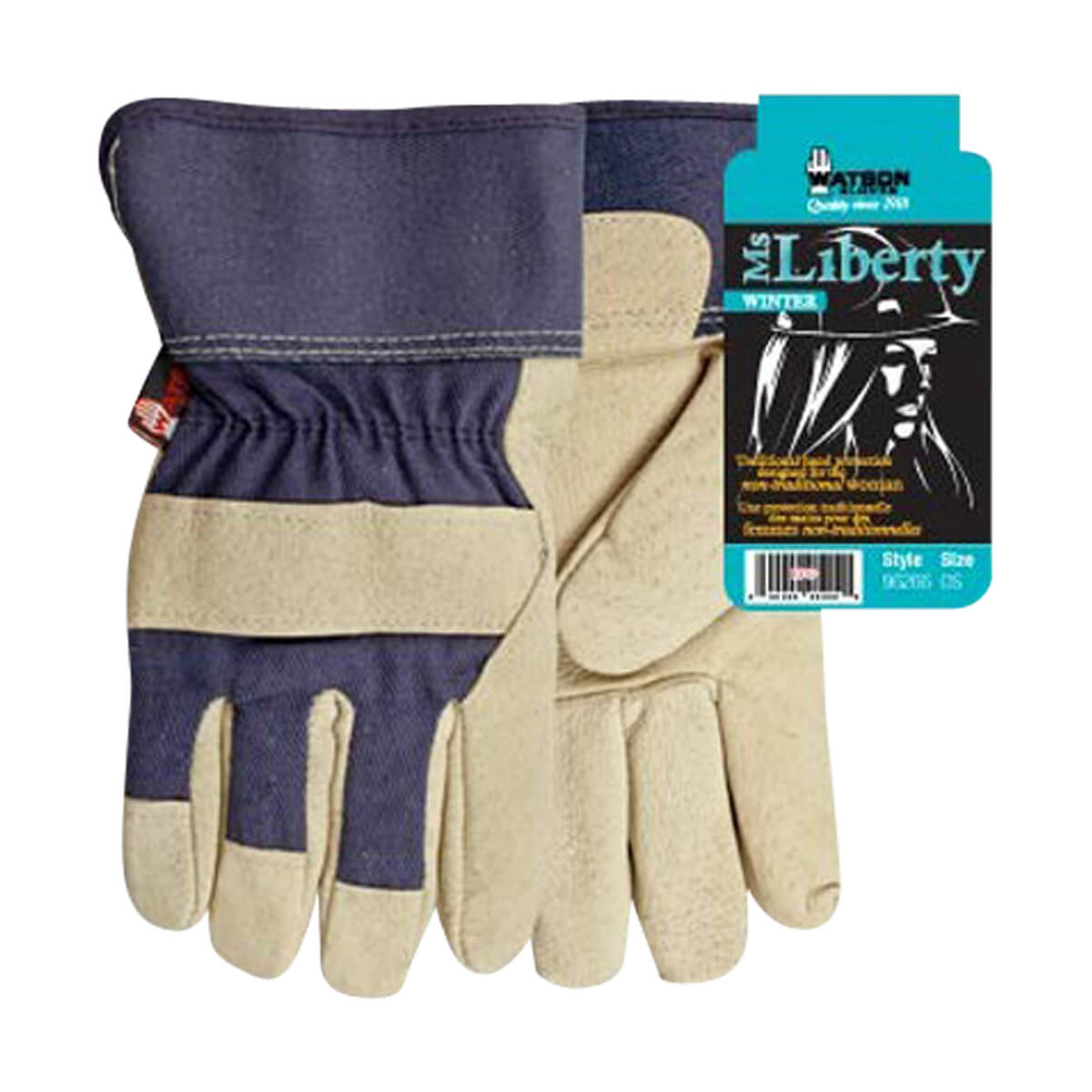Lined Ms Liberty Gloves