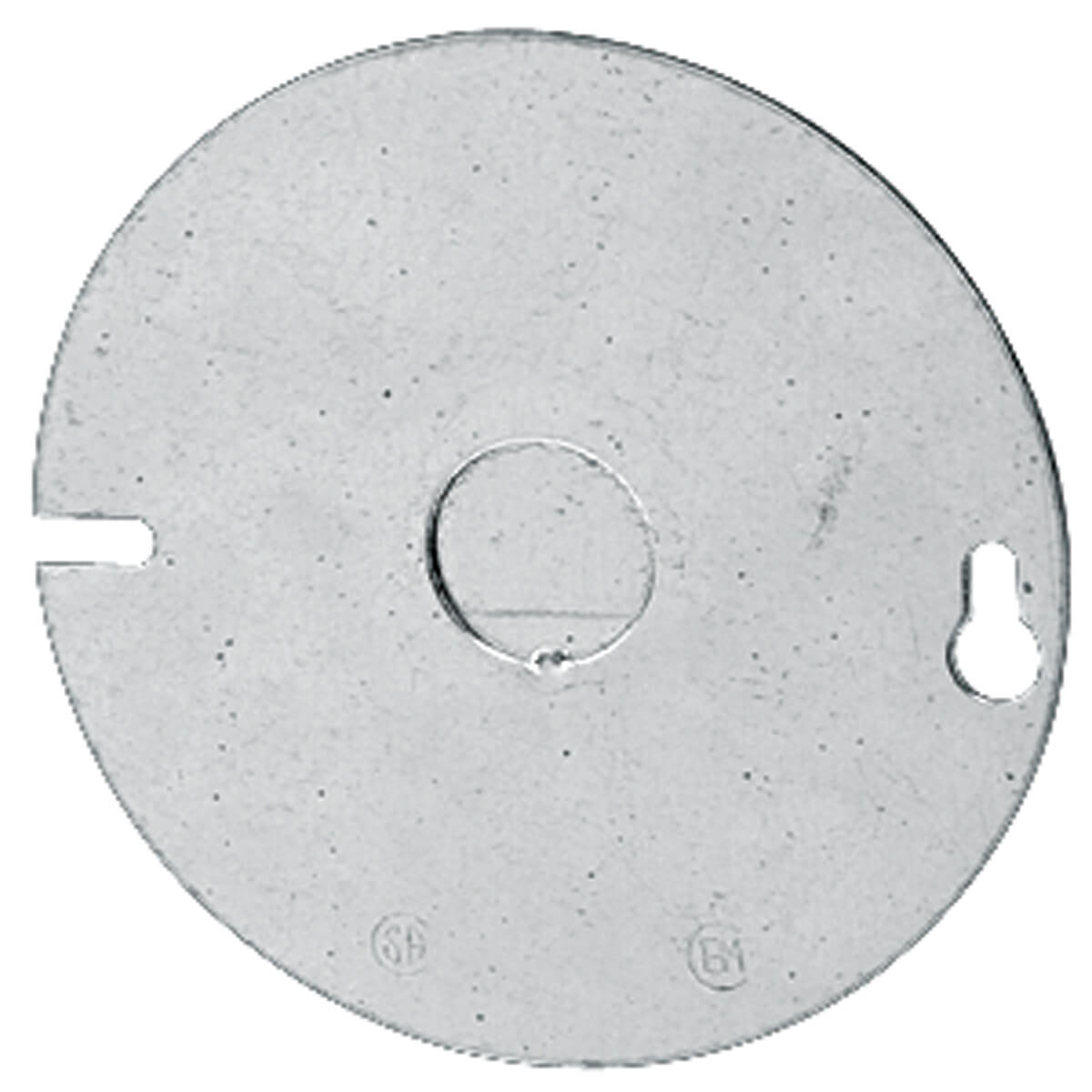 4-in Round 1/2-in KO Flat Cover