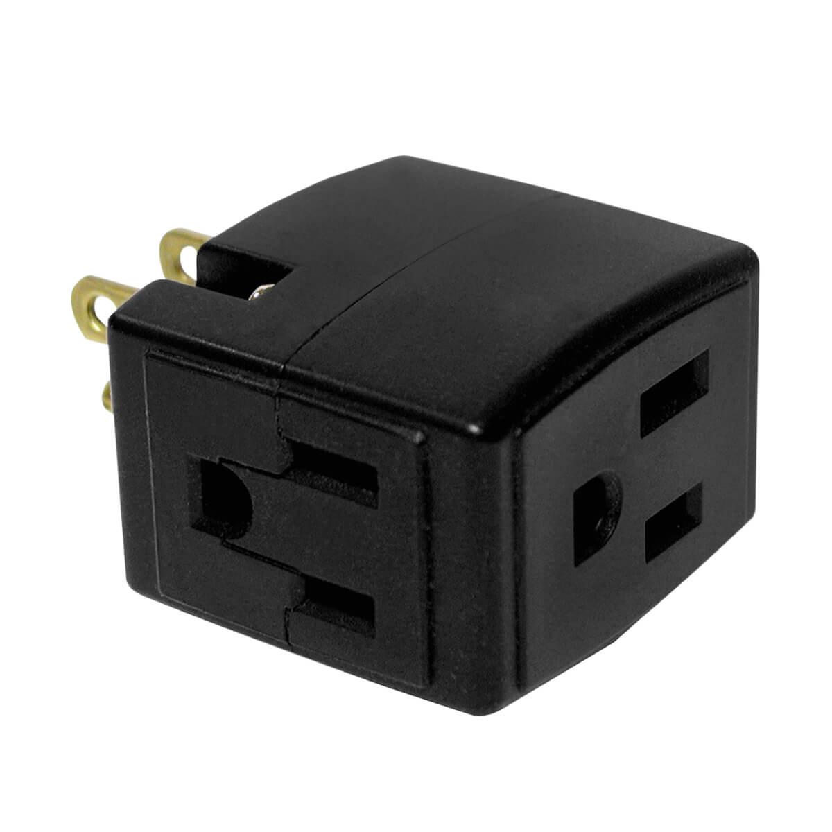 Leviton Plug - 3 Prong 3 Tap