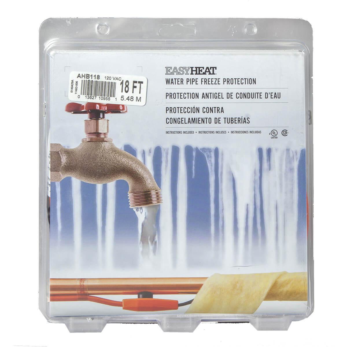 Heat Tape - Easy Heat - 18' or 6M