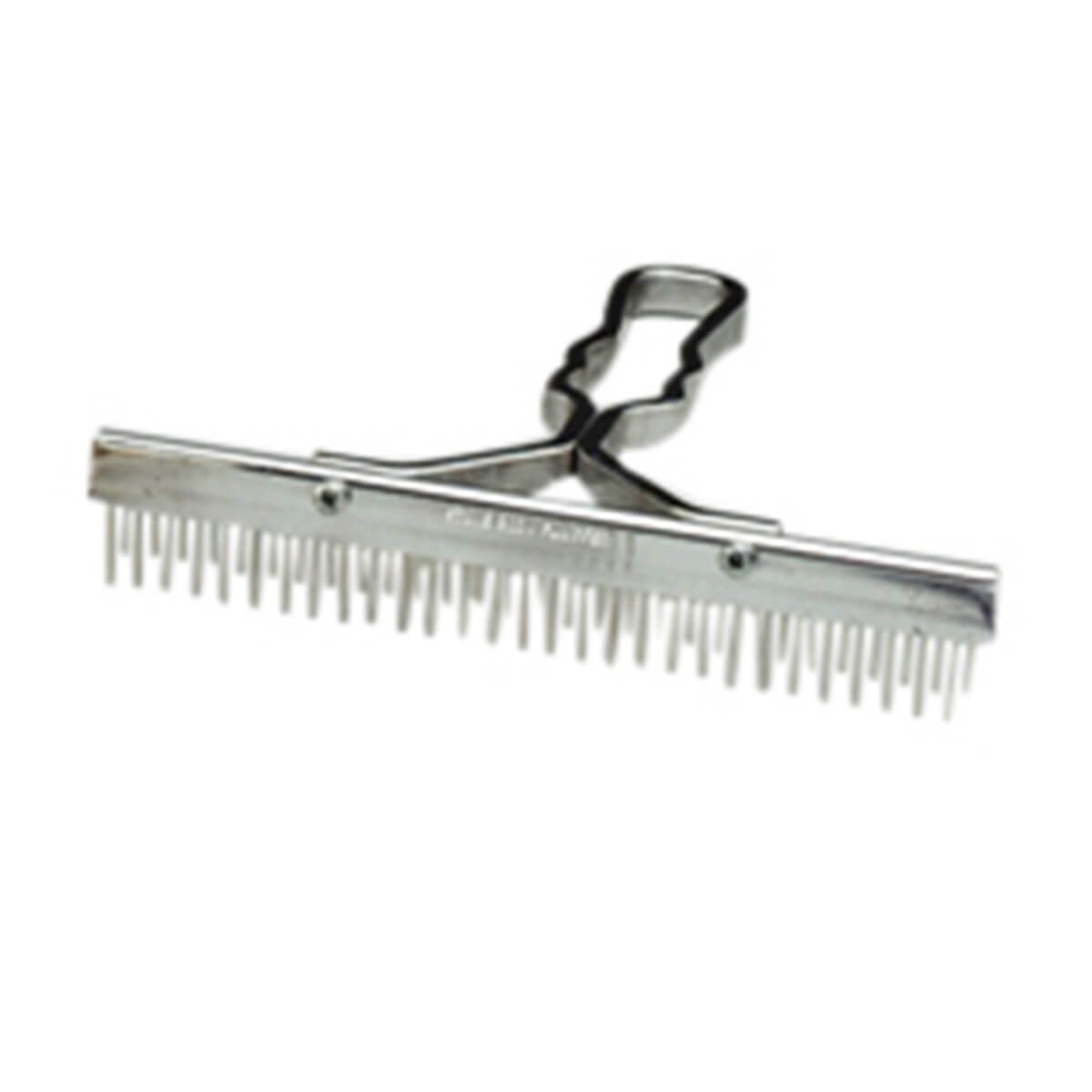 9-in Standard Grooming Comb with Aluminum Handle