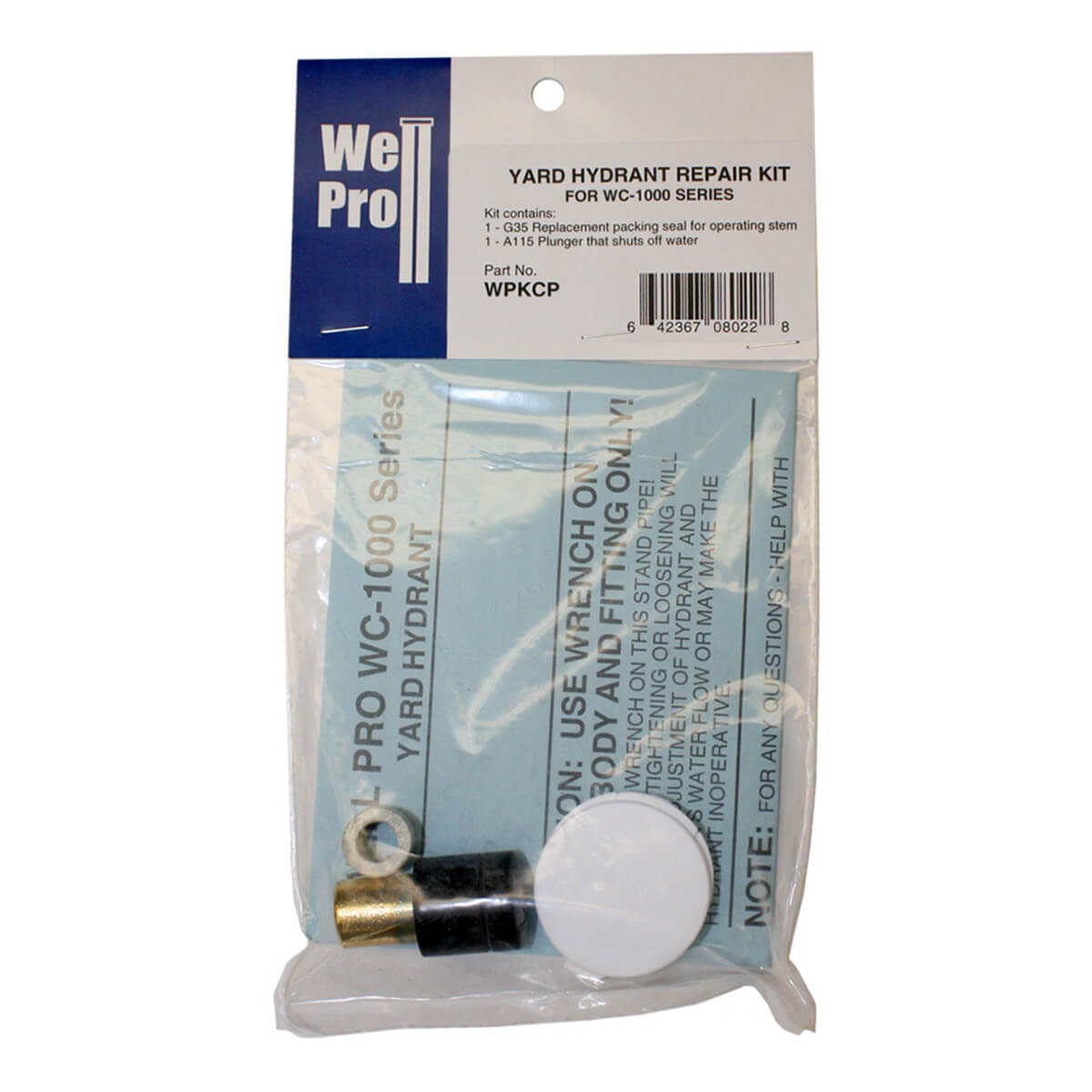 WellPro Parts Kit