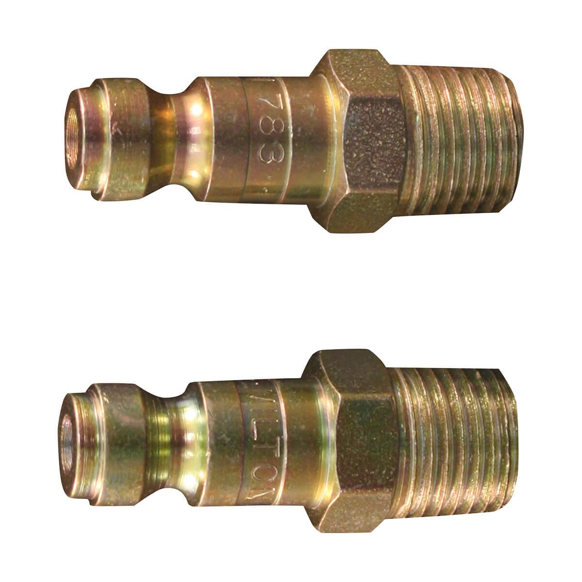 Plug T Ma 1/4npt - 2 pack