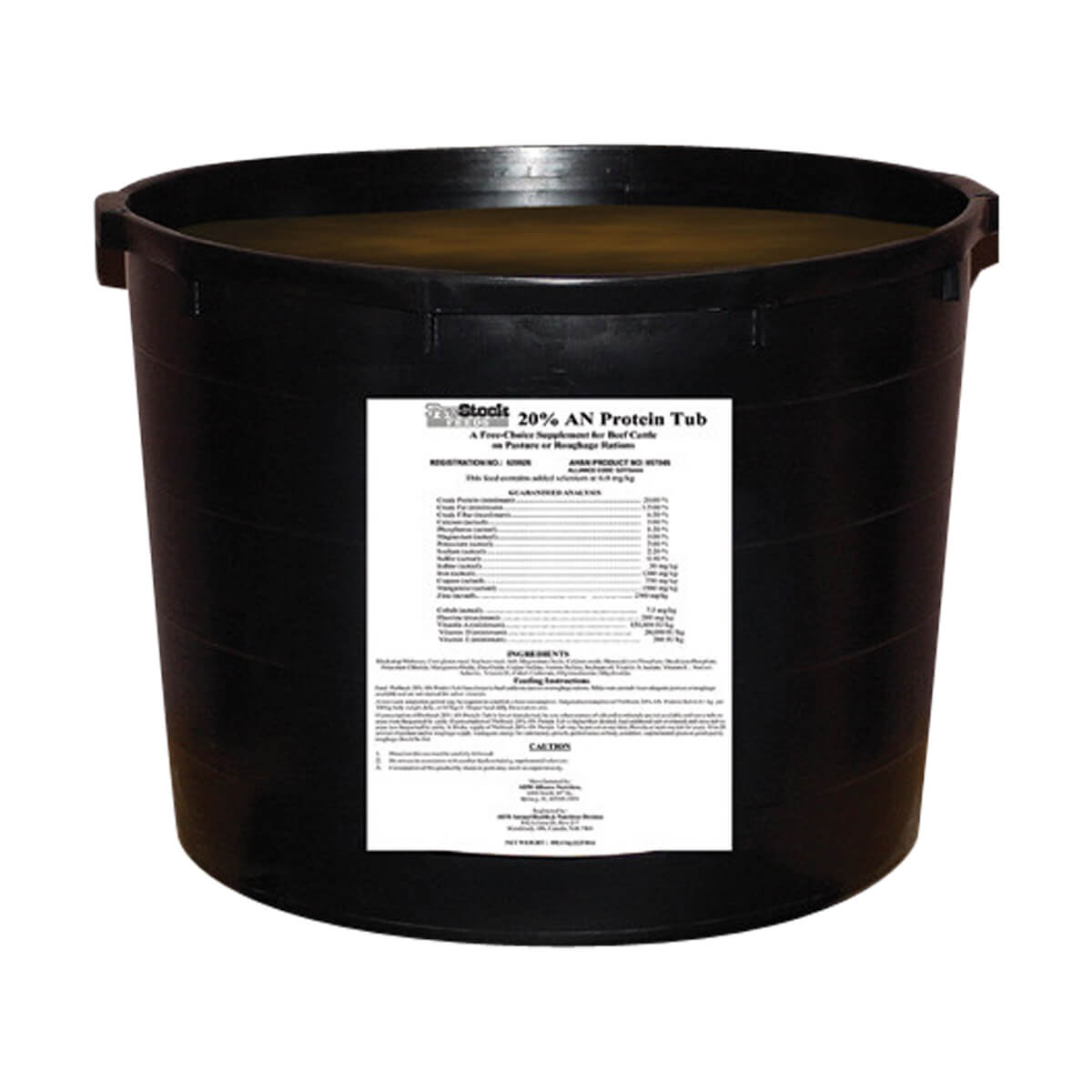 20% All Natural Protein Tub - 102 kg