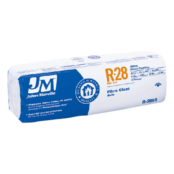 INSULATION JM R28 - 16-IN - 42.7SF<br/>