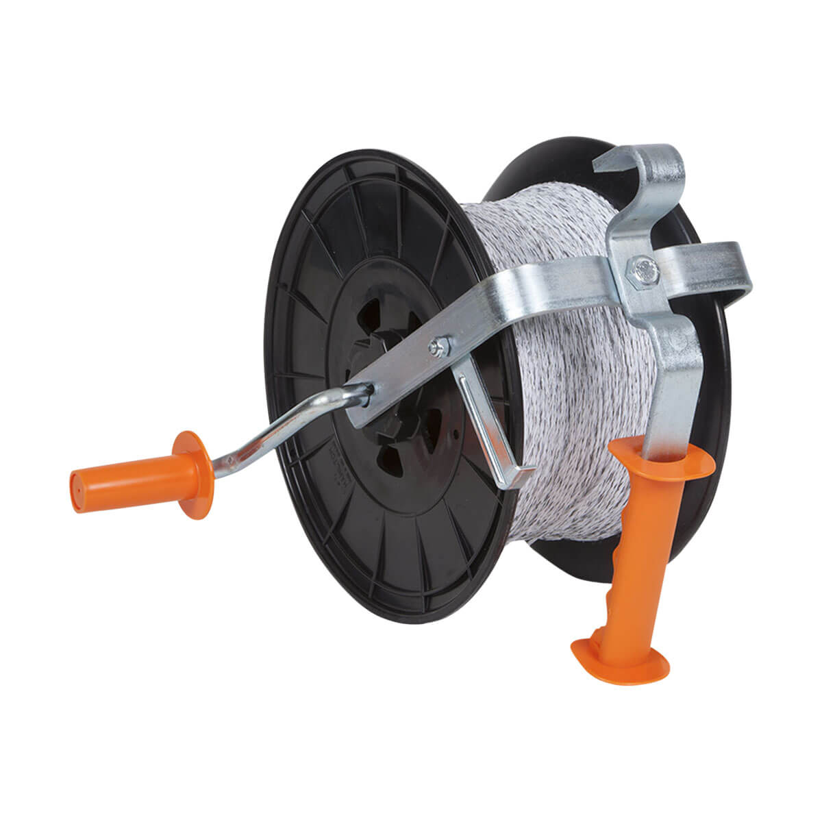 Gallagher Econo Reel - G616014 - Pre-wound with 500m white polywire