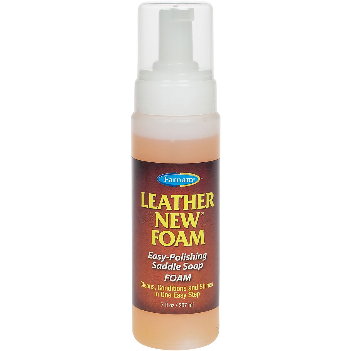 Leather New Foam Clean and Polish - 207 ml