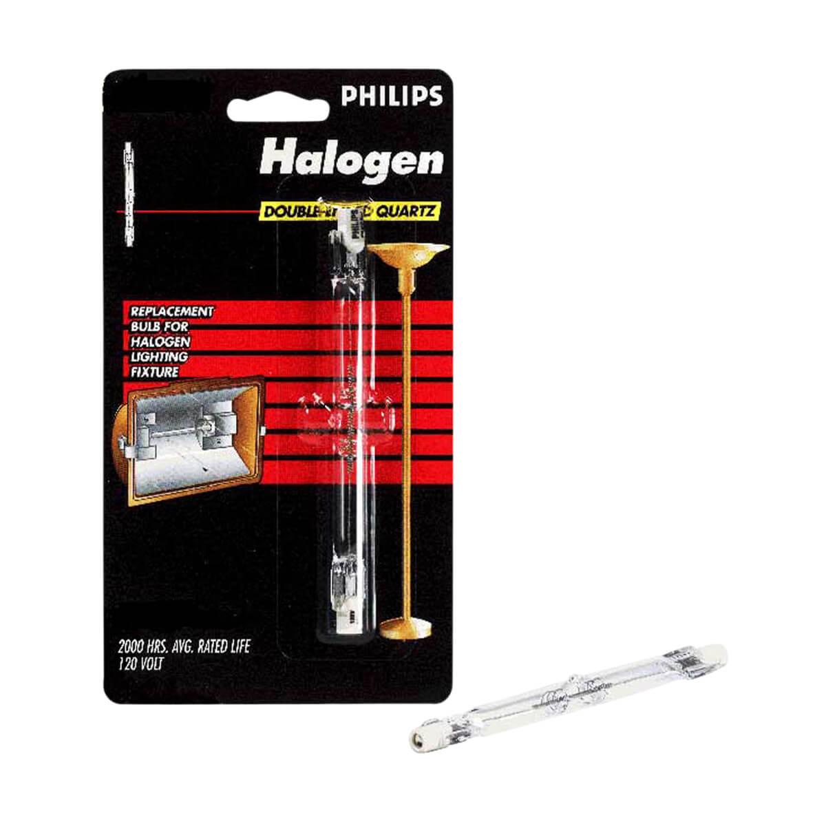 Philips Halogen Tube 500W T3 Quartz 119 mm - 2 pack