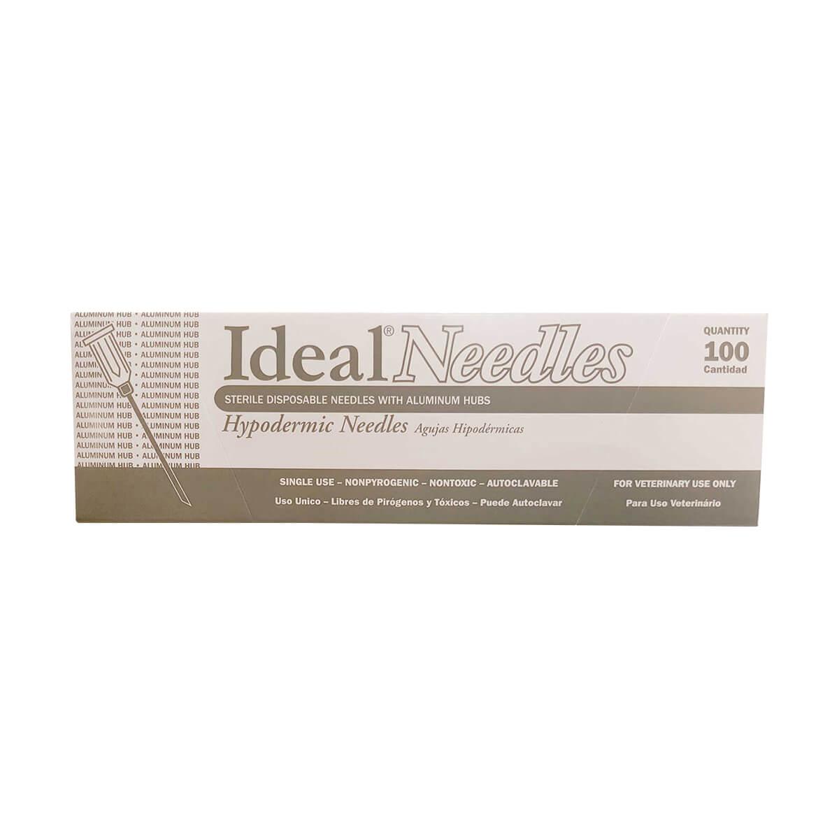 "Disposable Alumimum Needles 100 pack - 16 x 1"""