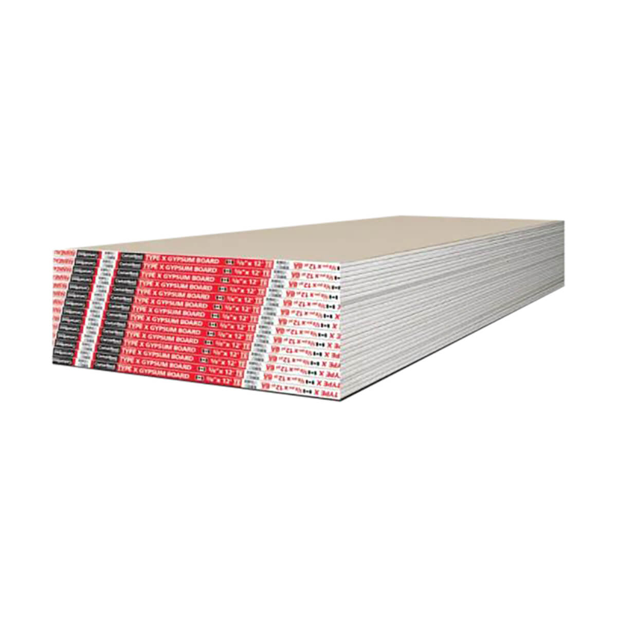 Drywall - 5/8-in - 4-ft x 12-ft