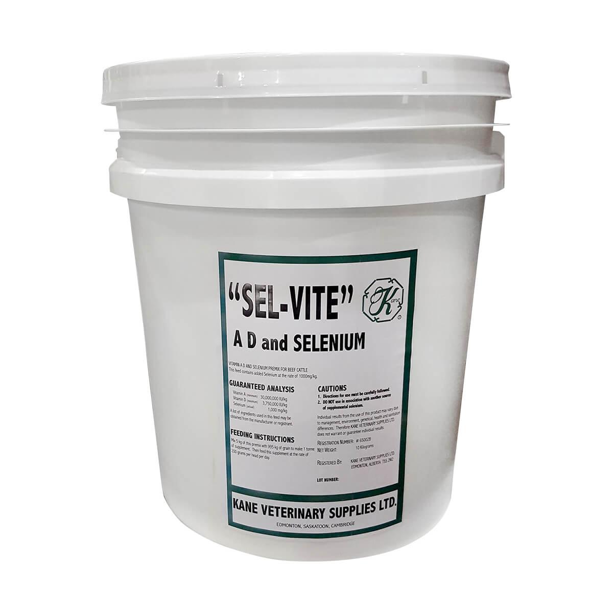 Sel-Vite  Triple Strength Vitamin ADE and Selenium - 10 kg