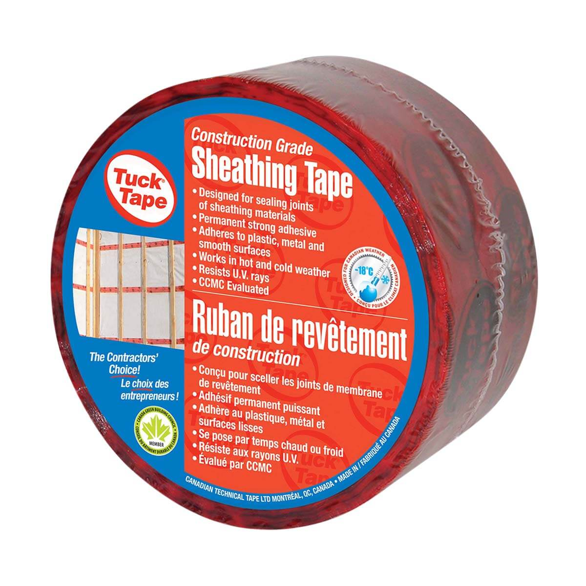 Red Sheathing Tape