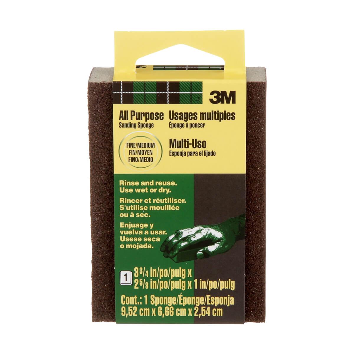 3M Sanding Sponge - Fine/Medium Grit