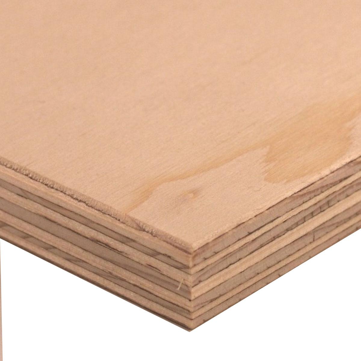Standard Fir Plywood - TG - 4 x 8 - 15.5 mm - 5/8-in
