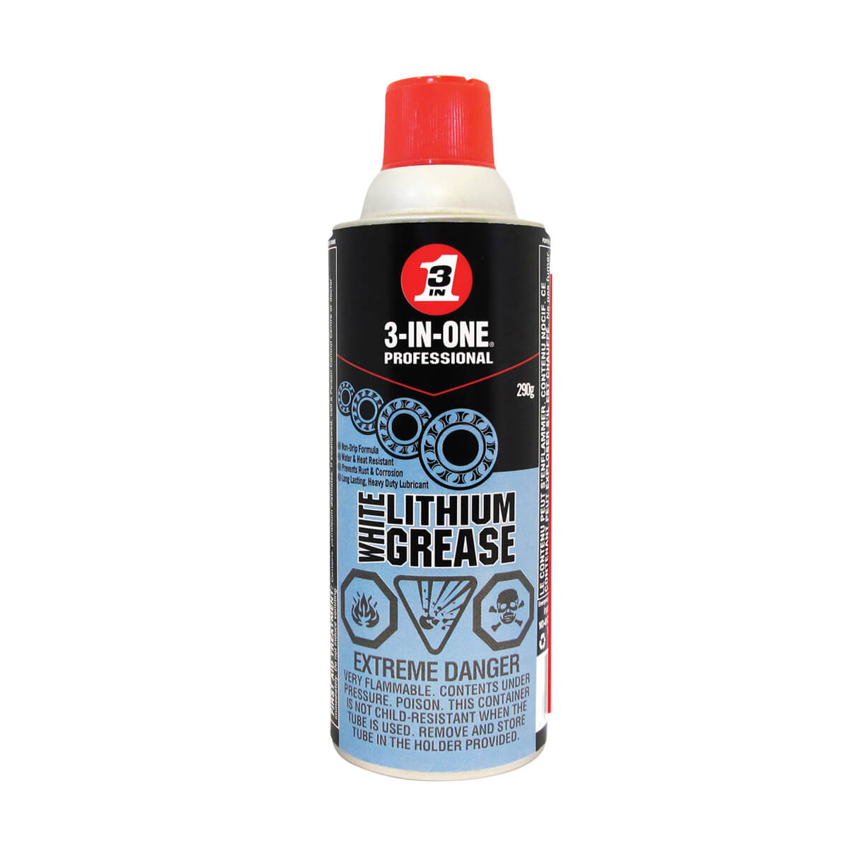 3-IN-1 Professional White Lithium Grease - 290 g