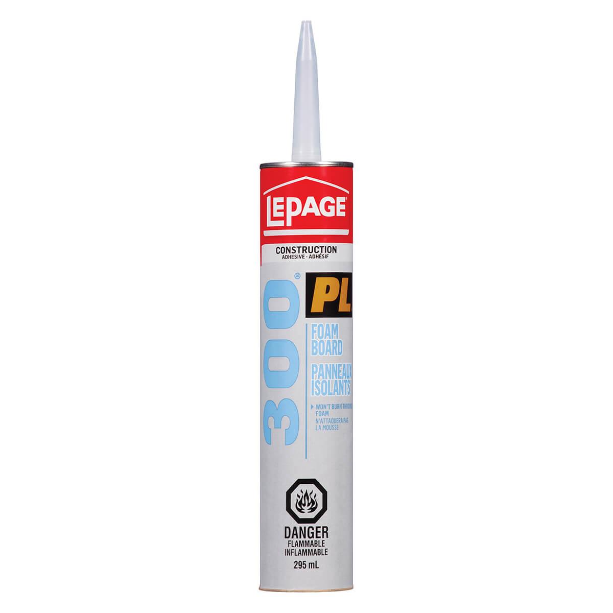 LePage PL300 Foamboard Adhesive  - 295 ml