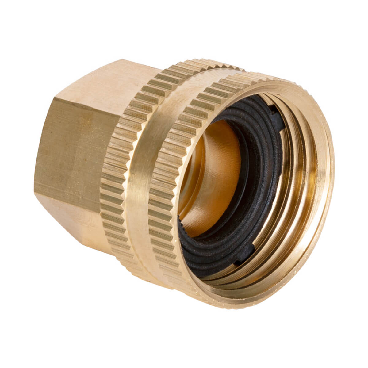 Brass Double Female Swivel Connector
