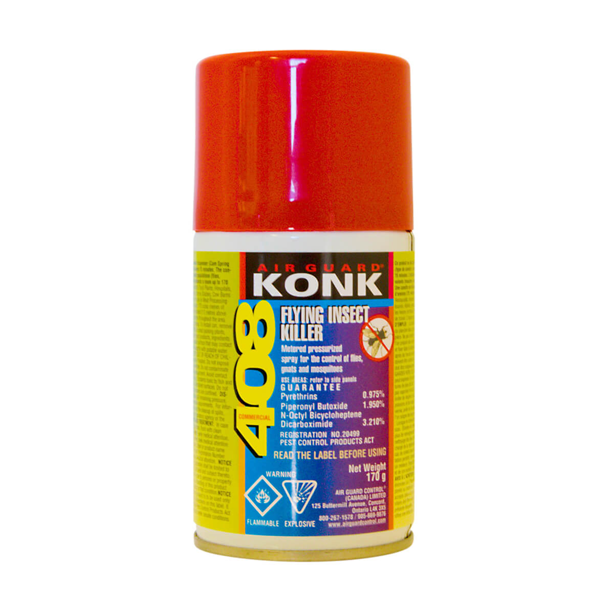 Konk 408 Flying Insect Killer 170g
