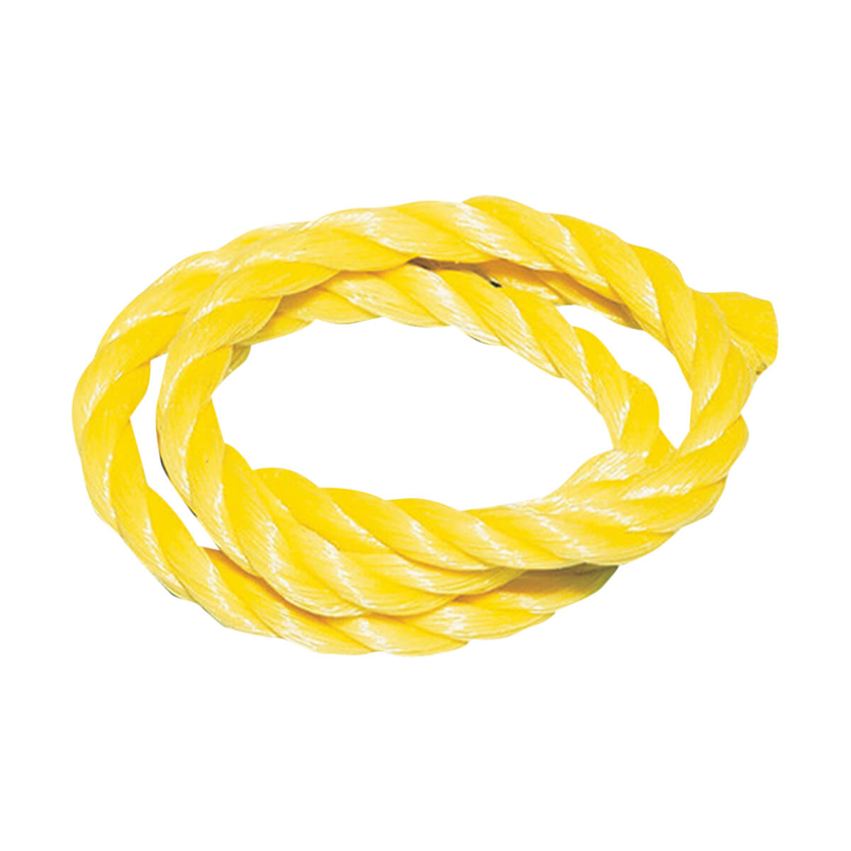 Yellow Poly Rope - per foot - 3/16""