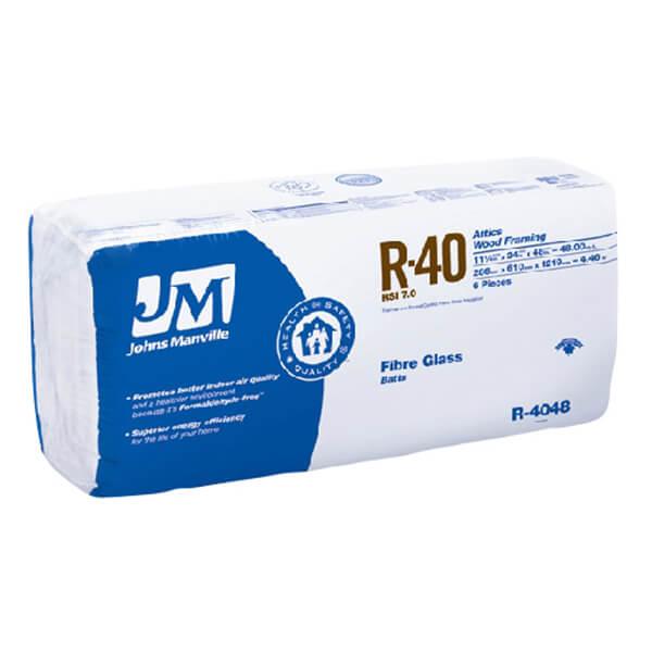 INSULATION JM R40 24-IN 48SF<br/>