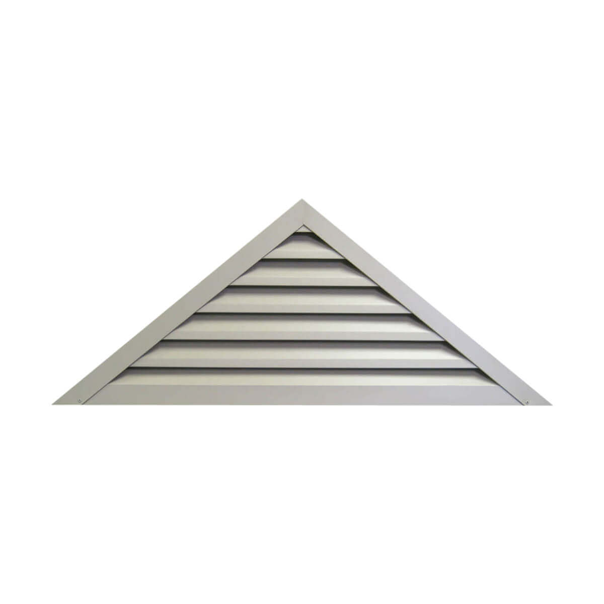 Rectangle Gable Louver - 12-in x 18-in