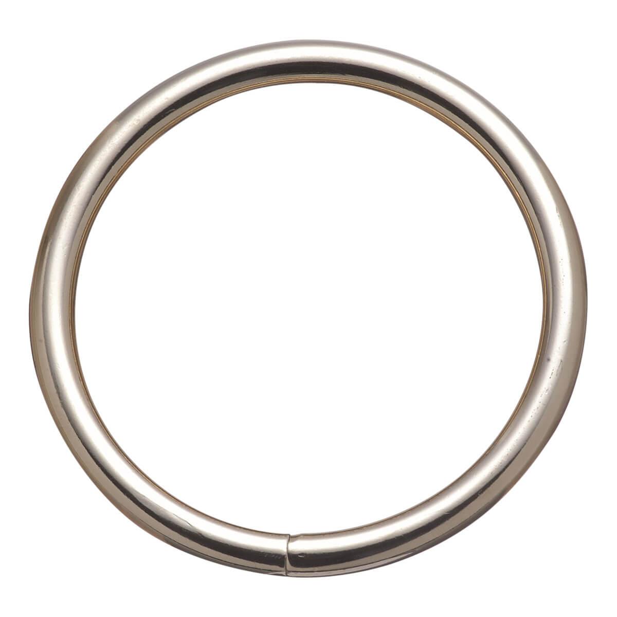 Harness Rings Welded - 1-in Nickel Plated